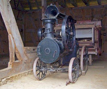 Steam Engine, Steam, Machine, Water Vapor, Historically