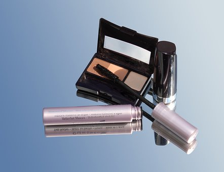 Makeup Set, Going Out, Evening, Blue, Decoration