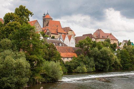 Besigheim, Old Town, Castle, Enz