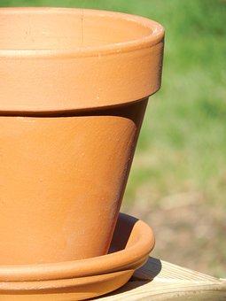 Terra Cotta, Clay, Pot, Terra, Cotta, Flower, Plant