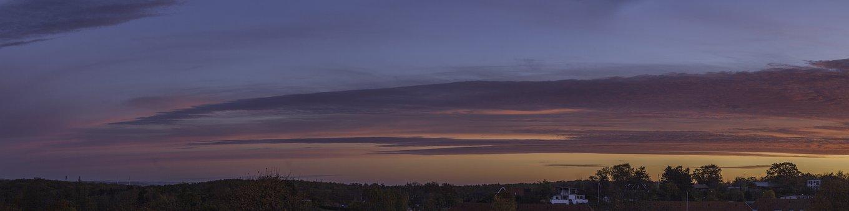Morning, Sky, Panorama, Blue, Cloud, Sun, Rise