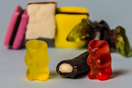 Gummibärchen, Saftbär, Gold Bear, Fruit Jelly, Haribo