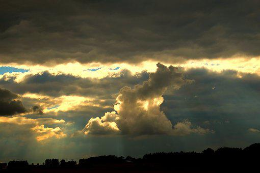 Clouds, Storm, Sky, Thunderstorm, Weather, Forward