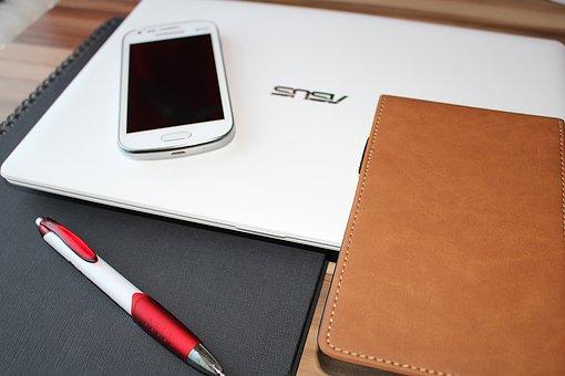 Smartphone, Mobile Phone, Facilities, Laptop, Pen