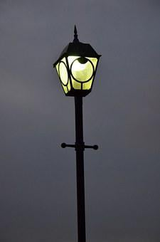 Street Lamp, Light, Night, Street Light, Urban