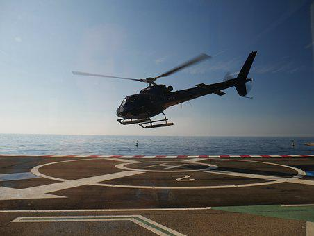 Helicopter, Landing, Heli, Helipad, Departure, Take Off
