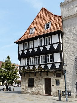 Timber Framed Building, Braunschweig, Historically