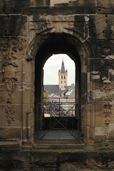 Vista, Porta Nigra, Trier, Church, Architecture