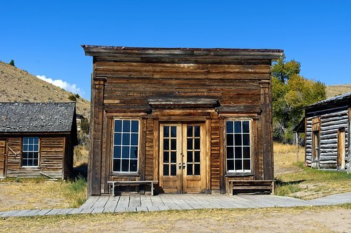 Assay Office, Montana, Bannack, Ghost Town, Old West