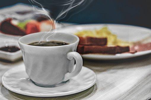 Breakfast, Coffee, Cup, Table, Caffeine, Restaurant