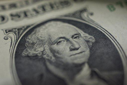 Dollar, Macro, Eyes, George Washington, Nikon D7100