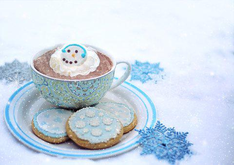 Winter, Snow, Snowy, Snowing, Cold, Hot Chocolate