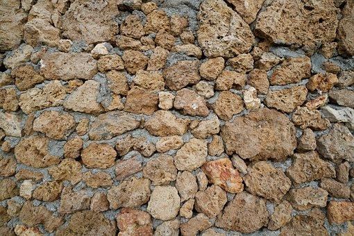 Stone, Brick, Wall, Kennedy, Brown, Sarmiento, Ground