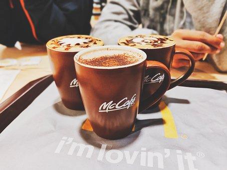 Coffee, Coffee Mugs, Mccafe, Winter Vibe, Cafeteria