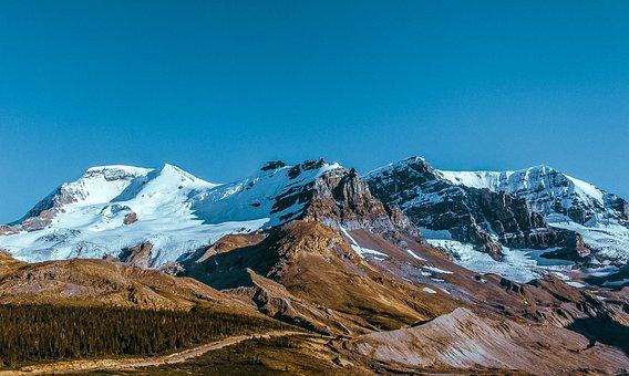 Winter, Mountain, Snow, Mountains, Landscape, Nature