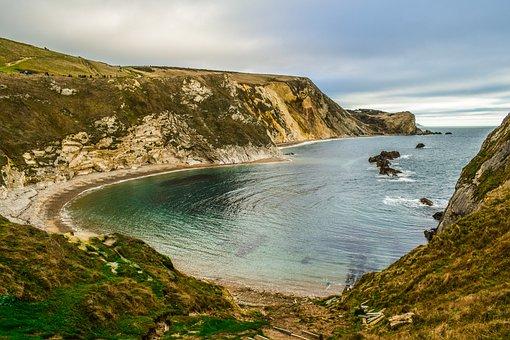 Jurassic Coast, Dorset, England, Uk, Nature