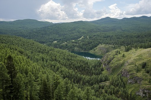 Mountain, River, Landscape, Nature, Water, Outdoors