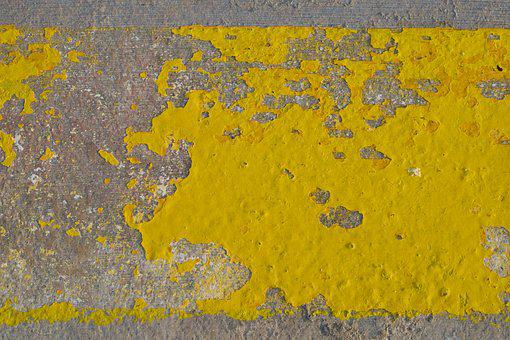 Ground, Street, Msn Letters, Paint, Old, Abstract