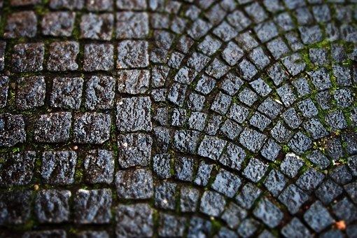 Road, Cobblestones, Paving Stones, Patch, Ground