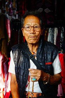 Old, Man, Po, Elderly, People, Portrait, Person, Human