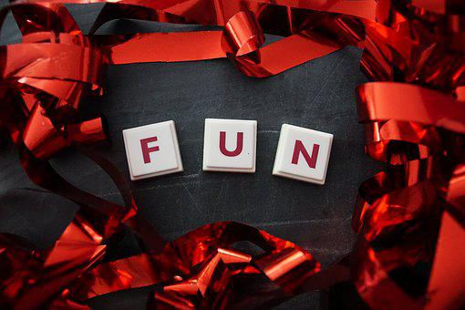 Fun, Word, Red, Loop, English, Letters