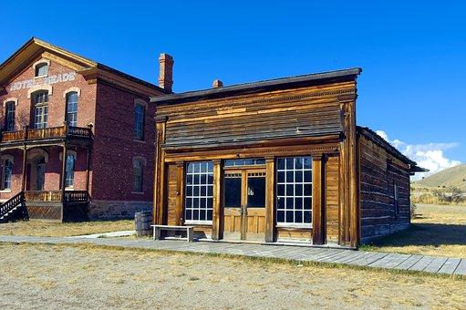 Skinner's Saloon In Bannack, Henry Plummer, Road Agents