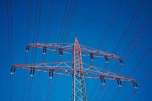 Strommast, Energy, Electricity, High Voltage, Pylon