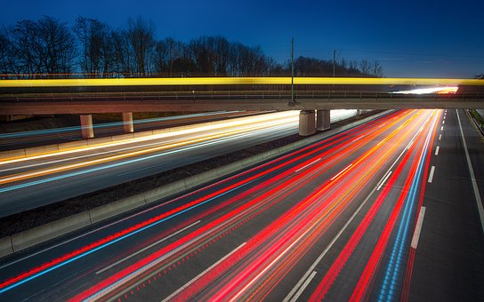 Trails, Highway, Auto, Traffic, Vehicle, City, Light