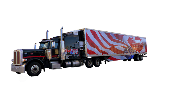 Truck, American, Transport, Traffic, Trailer, Vehicle