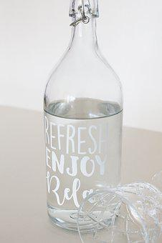 Bottle, Water, Water Bottle, Glass, Drink, Refresh