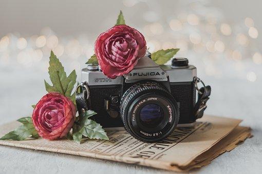 Camera, Vintage, Photography, Retro, Old, Antique