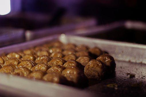 Sweet, Baklava, Arab, Saudi, Delicious, Arabic, Coffee