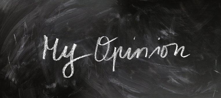 Opinion, Board, Blackboard, Chalk, Font, These