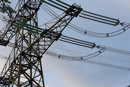 Pylon, Electricity, Energy, Flow, Stroommast