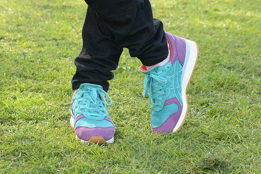Shoes, Standing, Sneakers, Trainers, Fashion, Footwear