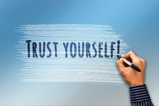 Self Confidence, Trust, Hand, Pen, Write, Security