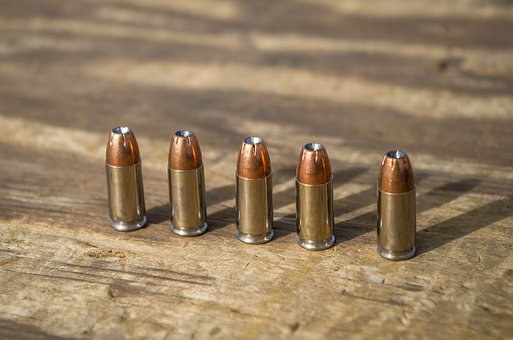Ammunition, 9mm, Hollow Point, Hollow Points, Bullet