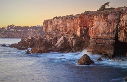 Rock, Costa, Mar, Landscape, Water, Nature, Litoral