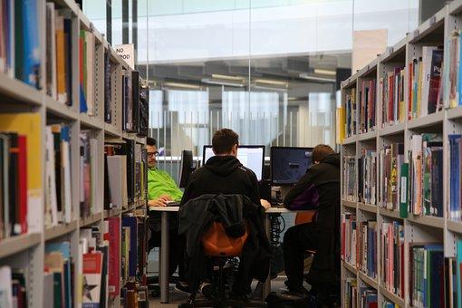 Library, Study, Books, Education, Bookshelf, Literature