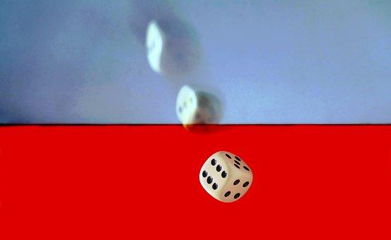 Cube, Craps, Luck, Alea Iacta Est, Play, Gambling, Pay