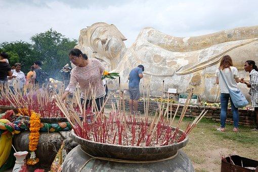 Thailand, Measure, Buddhism, Buddha Statue