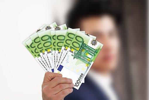 Businessman, Kaufmann, Money, Euro, Currency, Profit