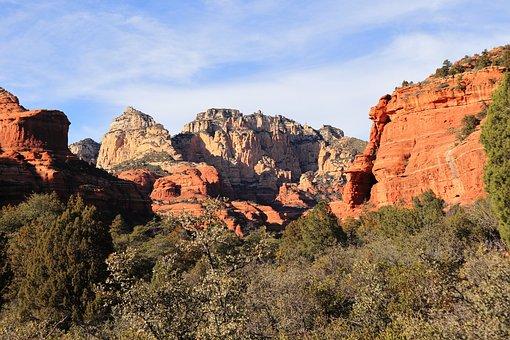 Boynton Canyon, Sedona, Red Rocks, Arizona, Landscape