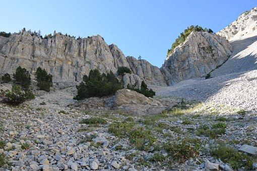 Mont Ventoux, Hiking, Mountain, Vaucluse, Sky, Bike