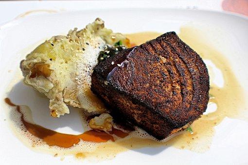 Tuna, Fish, Fresh, Sea, Lunch, Seafood, Tuna Steak