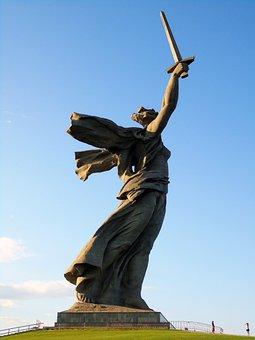 Volgograd, Mother Motherland, City Of Hero, Memorial