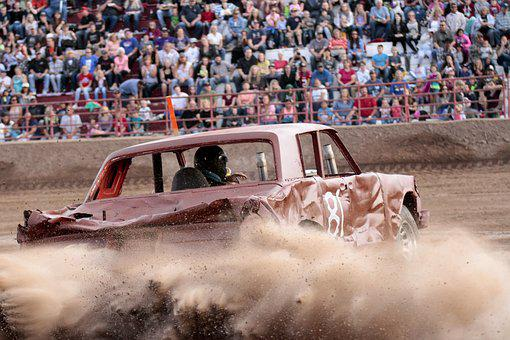 Demolition Derby, Cars, Crash, Wreck, Derby, Automobile