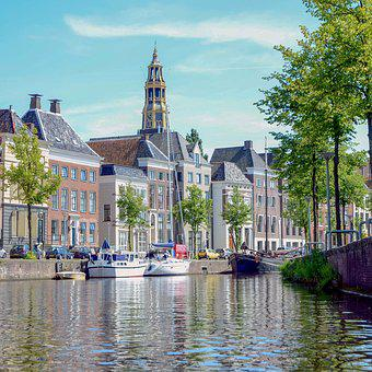 City, Groningen, Architecture, Historical, Building