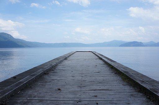 Lake, Bridge, Water, Natural, Landscape, Sky, Cloud
