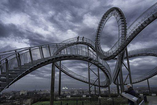 Tiger, Turtle, Duisburg, Germany, Architecture